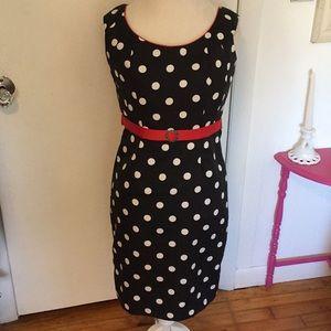 Sonia Peña Polka Dot Dress Size 6